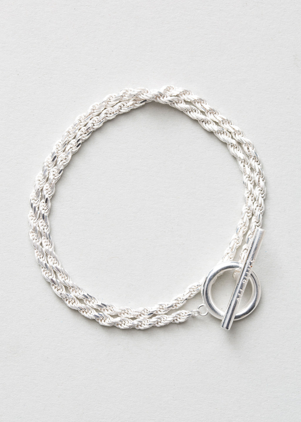 All Blues Rope Bracelet Double