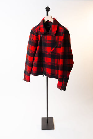 CRWTH Red Multi Sid Jacket