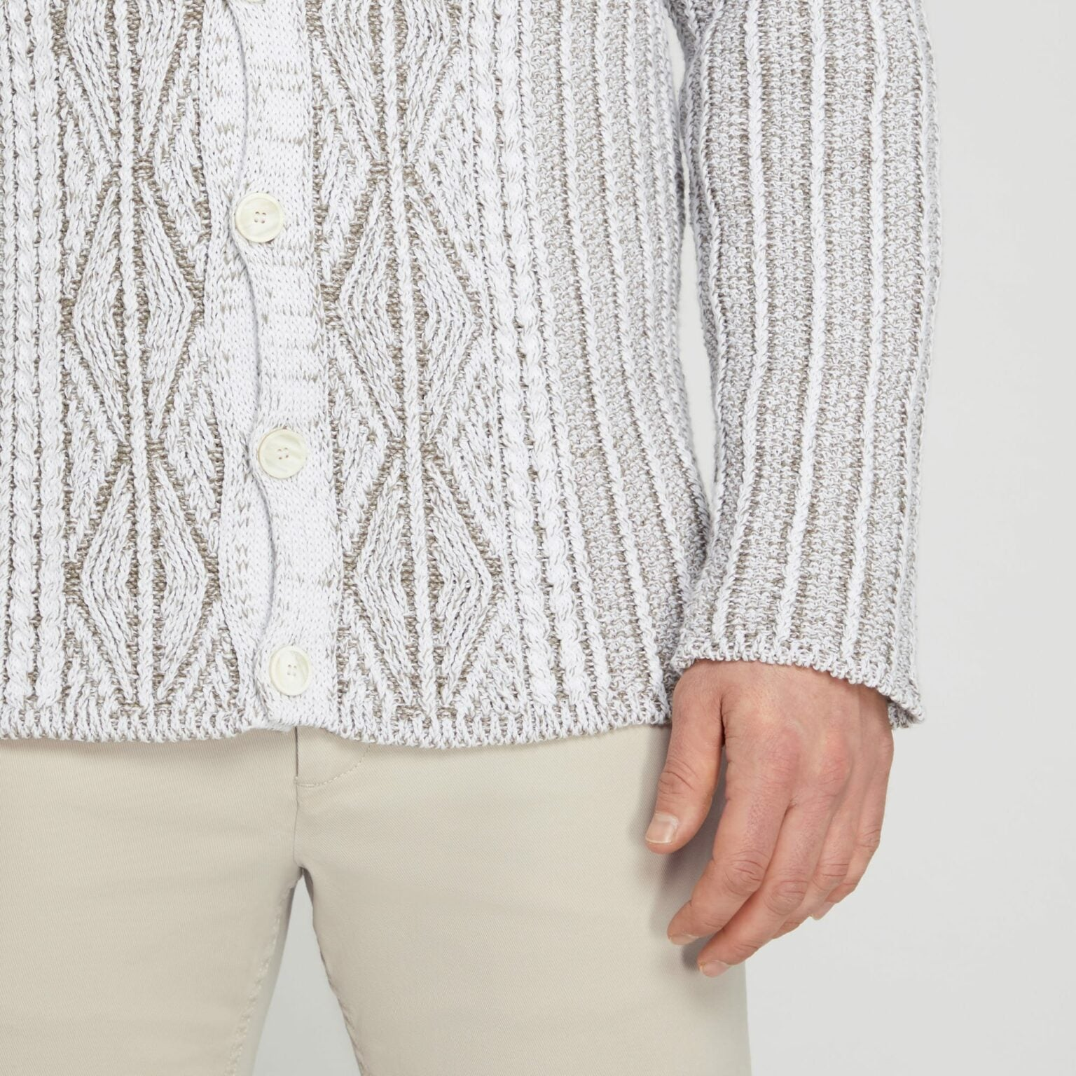 Inis-Meain-Aran-Cable-Sweater-Jacket-Ivory/Beige