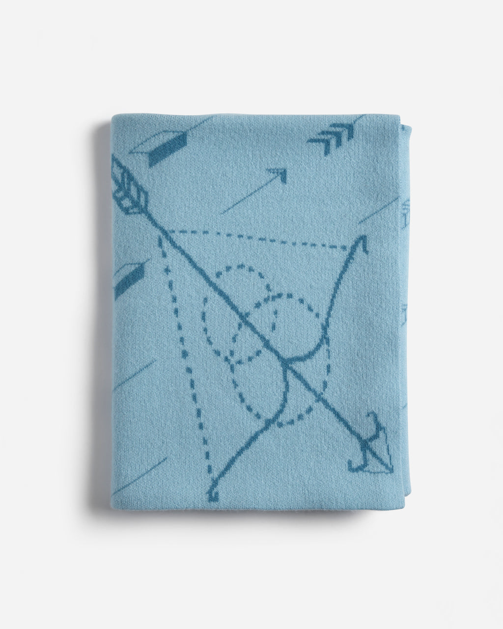 Archer's-Bow-Kids-Arrow-Baby-Blanket-Blue
