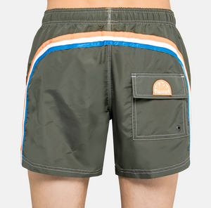 "Sunder-Elastic-Waist-Swim-Trunk-14""-Deep-Ar.-Green"