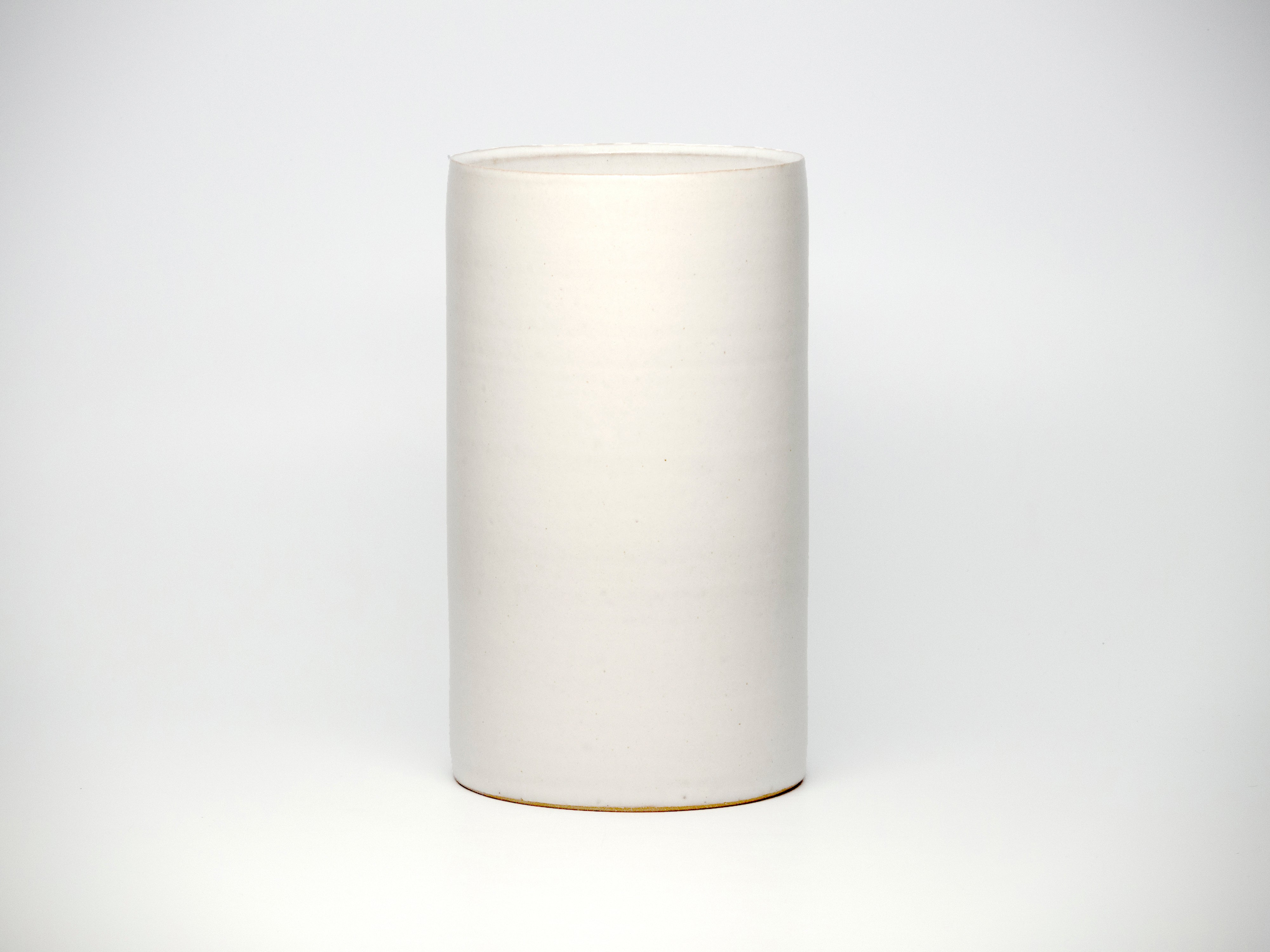 Tracie-Hervy-Wide-Cylinder-Small-White