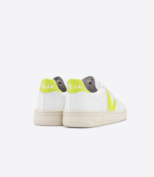 Veja-V-10-Leather-Extra-White-Jaune-Fluo