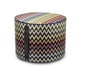 Missoni Vernal Cylindrical Pouf