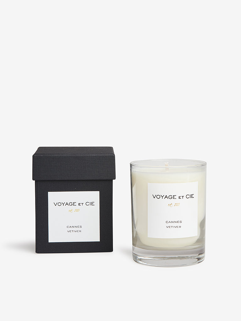 Voyage Et Cie 14oz Highball Candle Cannes Vetiver