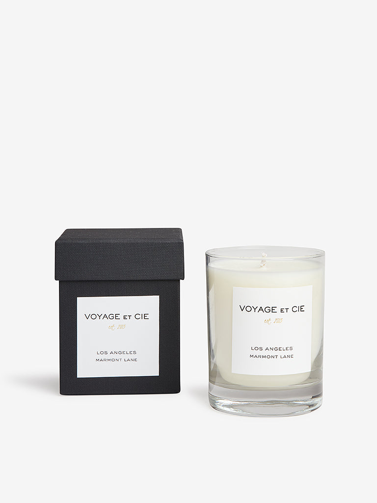 Voyage Et Cie 14oz Highball Candle Los Angeles Marmont Lane