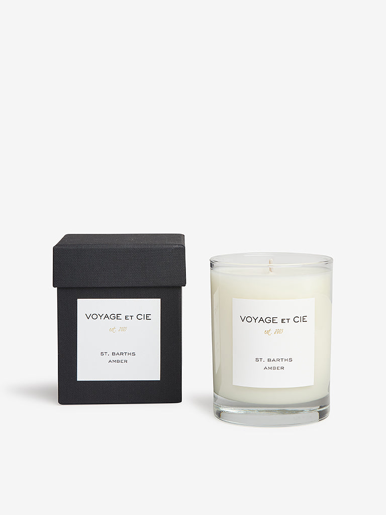 Voyage Et Cie 14oz Highball Candle St. Barths Amber
