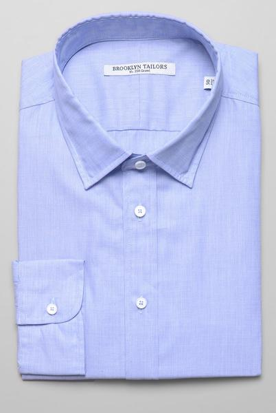 Brooklyn-Tailors-BKT20-Dress-Shirt-Light-Blue-End-On-End