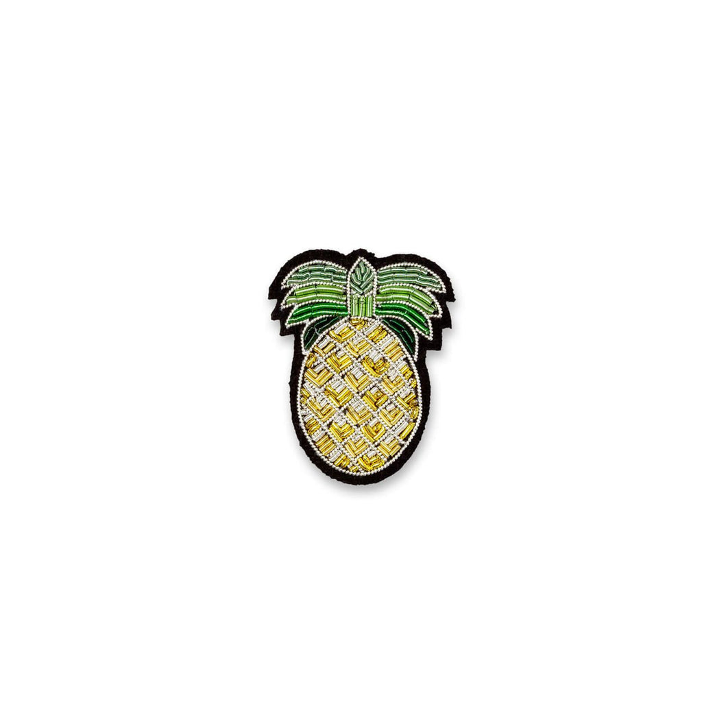 Macon et Lesquoy Gold Pineapple Pin