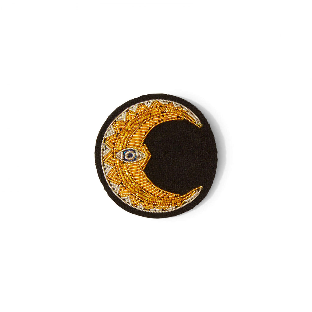 Macon et Lesquoy Crescent Moon Pin