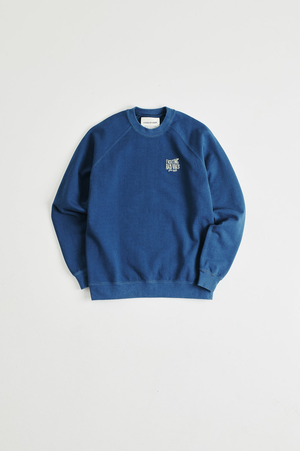 A Kind of Guise Mawu Crewneck, Ocean Blue-S