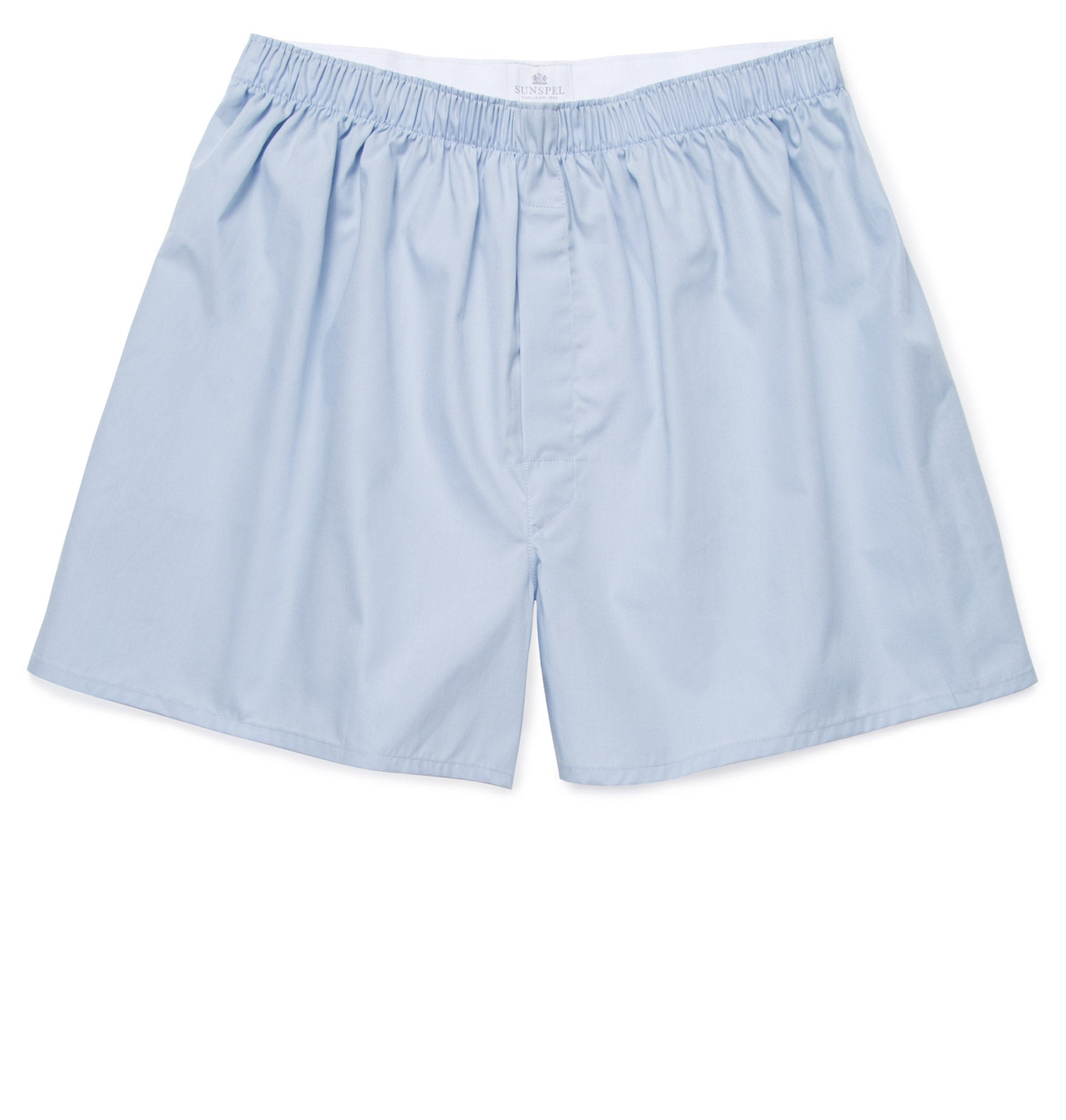 Sunspel-Classic-Boxer-Short-Plain-Blue