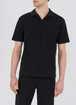 Sunspel-Organic-Cotton-Towelling-Short-Sleeve-Polo-Black