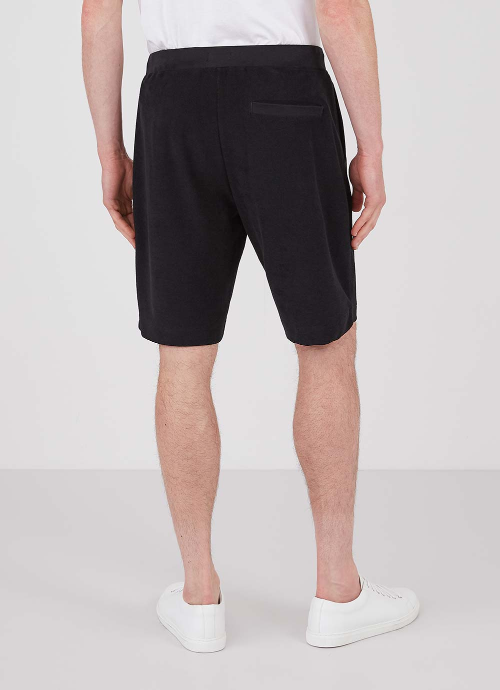 Sunspel-Towelling-Short-Black
