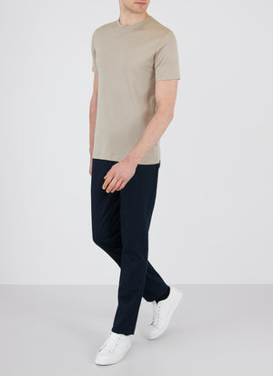 Sunspel-Short-Sleeve-Classic-Crew-Neck-T-Shirt-Taupe