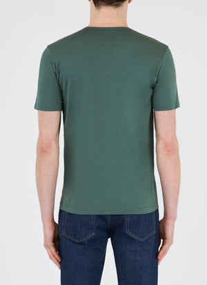 Sunspel-Short-Sleeve-Classic-Crew-Neck-T-Shirt-Pine