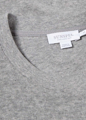 Sunspel Organic Towelling Short Sleeve Crew Neck T-Shirt