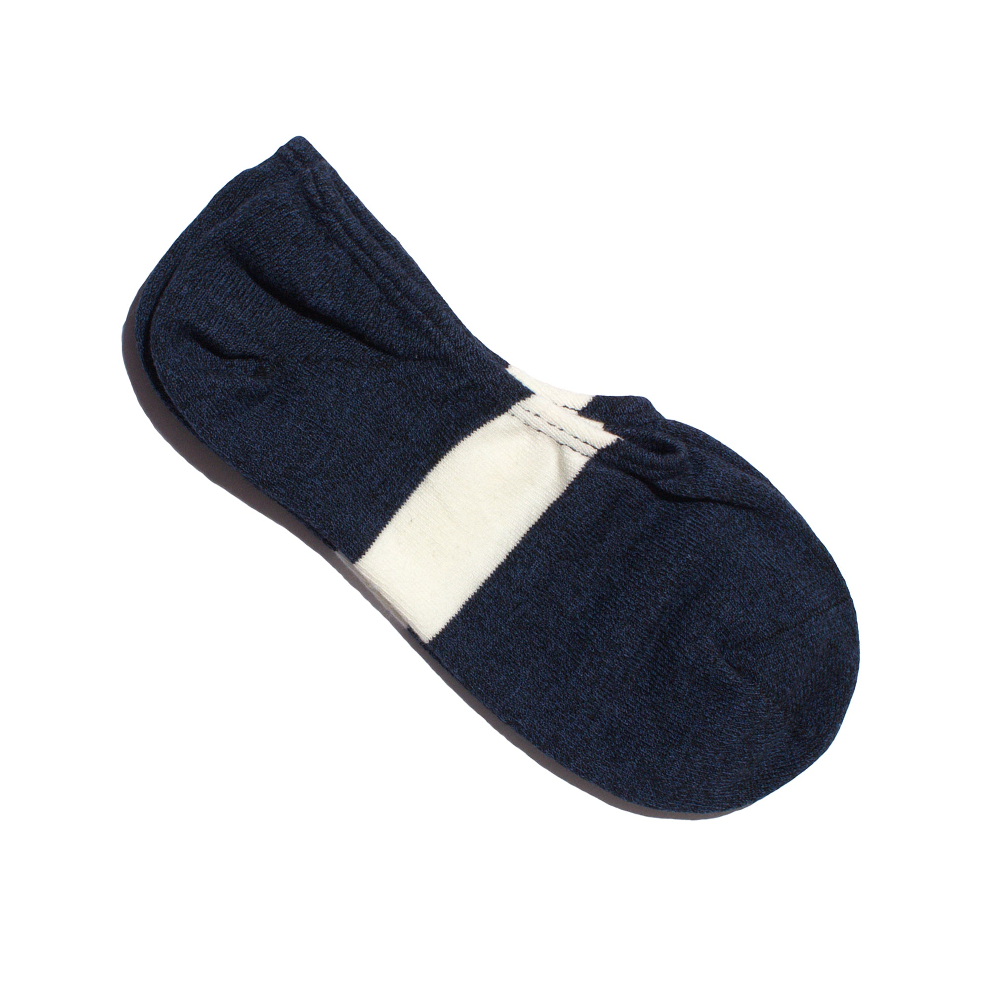 N/A-SIX-No-Show-Sock-Navy