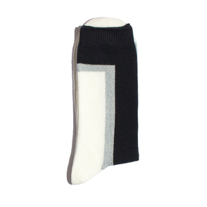 N/A-SEVEN-Hi-Ankle-Sock-Black/White