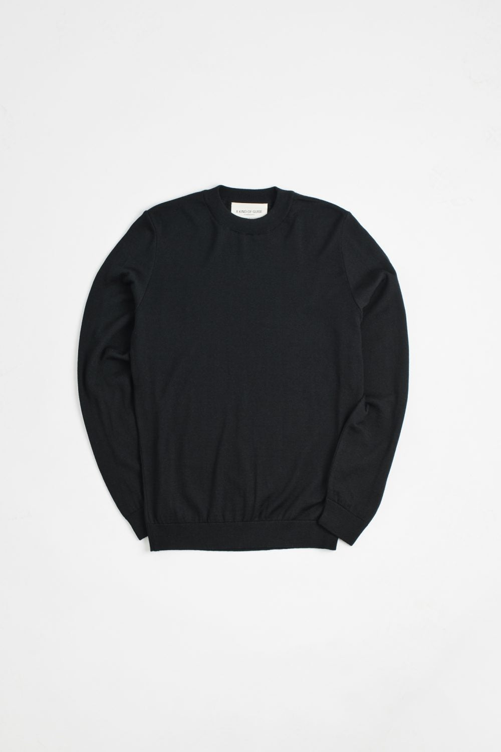 A Kind of Guise Permanents Crewneck, Black-M