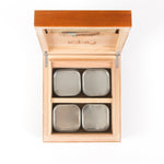 icky humidor 4-Tin in Natural Stain price