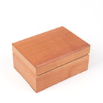 Icky Humidor | 2-Tin in Natural Stain