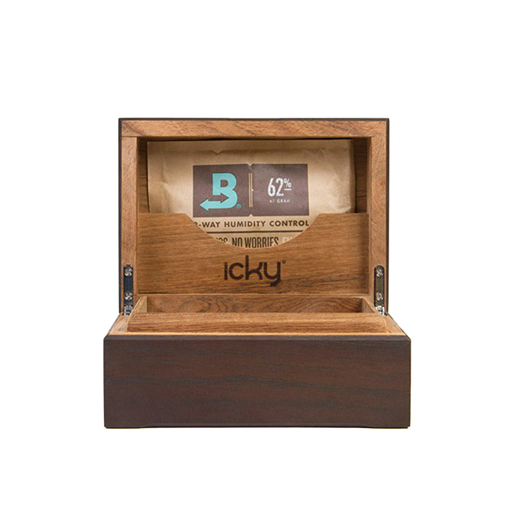 solid oak humidor