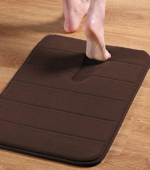 Non-Slip Bath Mat |Absorbent ,Super Cozy, Thick, Machine Wash, Easier to Dry Bathroom Rugs