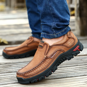 Casual Shoes For Men| Hiking Boots|Comfort Breathable Hiking Leather Shoes With Supportive Soles  for Four Seasons Daily Outdoor