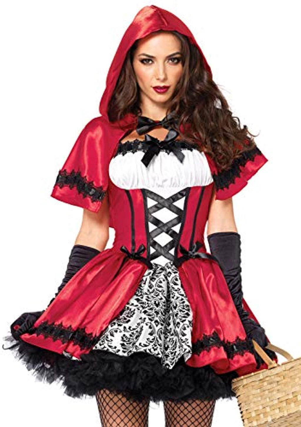 Women's Little Red Riding Hood Costume|Halloween Costumes For Women|Adult Halloween Costumes