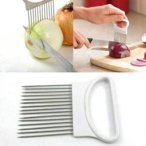 Onion Holder Slicer Tomato Vegetable Cutter