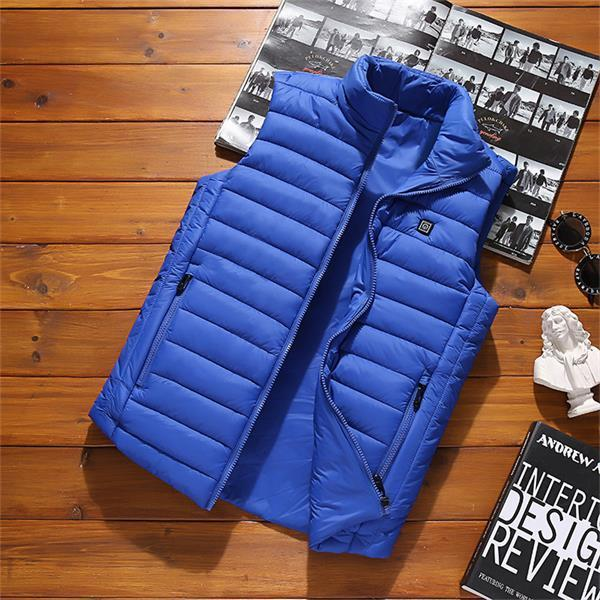 Unisex Warming Heated Vest |Warm Winter Vest|Cold-Proof Washable Heating Clothes | 5 Colors Seven Sizes