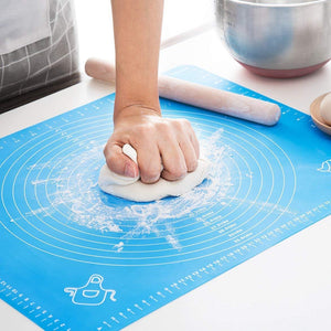 "Non-Stick Baking Mat  19.68"" x 15.74""  Blue"