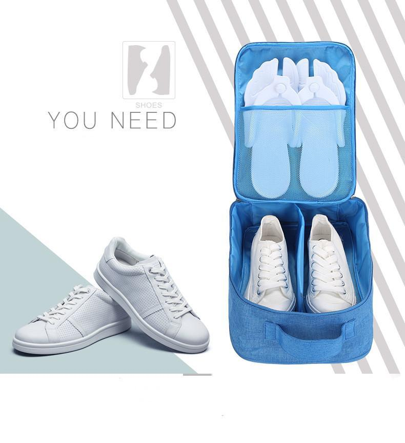 2019-Fashion Travel Shoe Bags, Foldable Waterproof Shoe Pouches