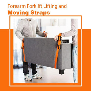 Forearm Forklift Lifting and Moving Straps