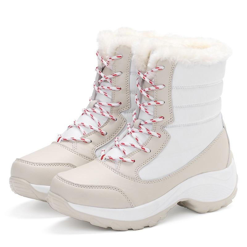 Women's Waterproof Winter Snow Boots|Women's Insulated All Weather Winter Boots