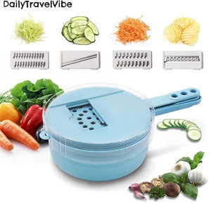 Multi Purpose 9 in 1 Vegetable Slicer