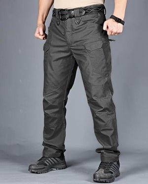 Upgraded Men's Waterproof Military Tactical Pants |Lightweight Rip-Stop Cargo Pants for Men