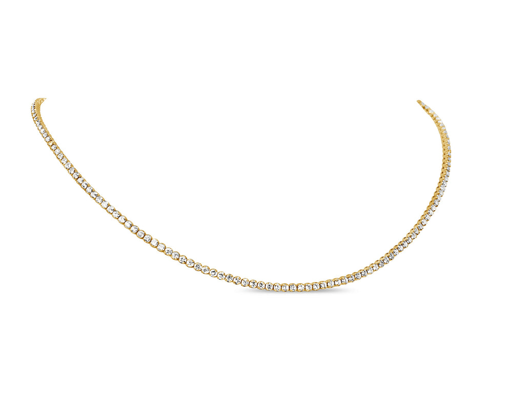 Everyday Dainty Diamond Tennis Necklace *Back in Stock but almost sold out*