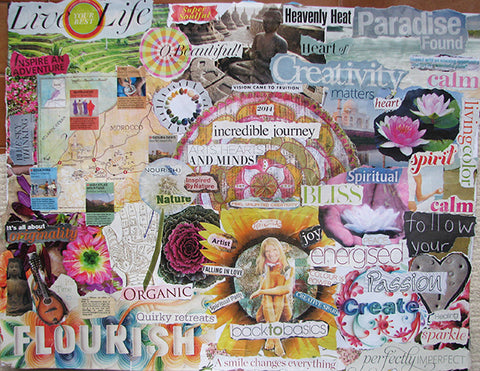 How to Create A Vision Board and Set Life Changing Intentions