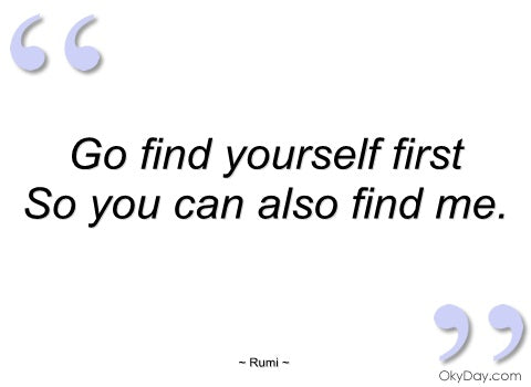 rumi art, rumi art cards, find yourself