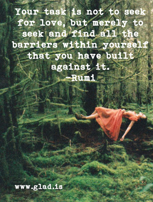 rumi art, rumi post cards, rumi inspirational
