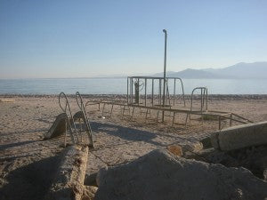 salton sea playground photo