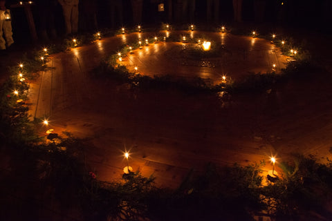 Spiral of Light Ceremony for Winter Solstice