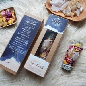 Smudge Ritual Kit for love and light