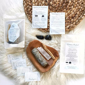 Cleanse and Protect Ritual Kit. Ritual Kit or Prayer Kit for setting intentions.