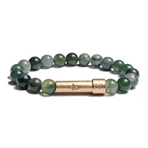 Wishbeads Agate Intention Bracelet