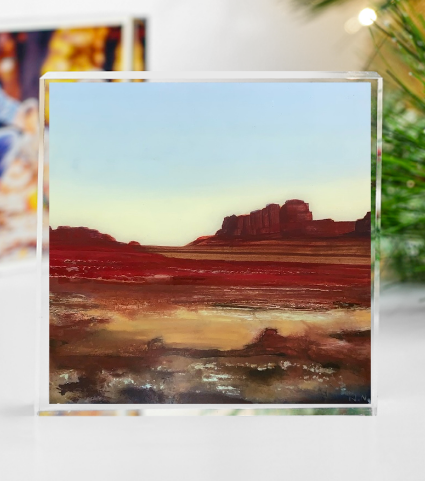 PAINTED DESERT ART BLOCK 4X4