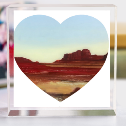 PAINTED DESERT LOVE BLOCK