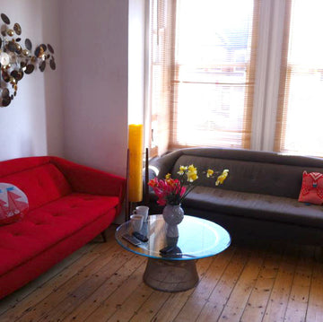 Two Greaves & Thomas sofa's - fully restored